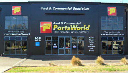4wd Commercial PartsWorld Factory
